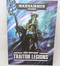 Warhammer 40k Chaos Space Marines Traitor Legions codex army book