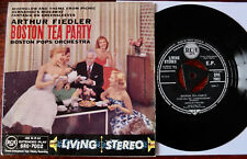 "RCA SRC-7002 ARTHUR FIEDLER BOSTON TEA PARTY 7"" EP NM- STEREO (1958)"