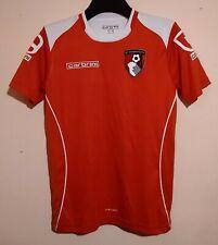 AFC BOURNEMOUTH FOOTBALL CLUB 2010 RED TRAINING SHIRT CARBRINI XLB/S CHERRIES FC