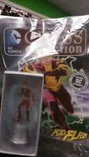DC COMICS EAGLEMOSS CHESS COLLECTION PIECE + MAG #77 KID FLASH WHITE KNIGHT