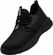 Men's Walking Shoes Slip On Lightweight Casual Gym Athletic Comfortable Tennis