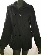 Ladies Size 14 Black Woollen Long Sleeved Jacket - Target