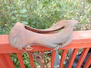 Antique Mehlbach NY Whitman Officer's Calvary Military Leather Horse Saddle