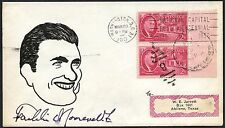 "FRANKLIN D. ROOSEVELT JR ""CONGRESSMAN"" SIGNED CACHET COVER BY STURGILL BT3018"
