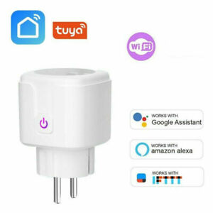 Wifi Smart Socket Plug Outlet Switch Monitor Timer Wireless Remote Control Home