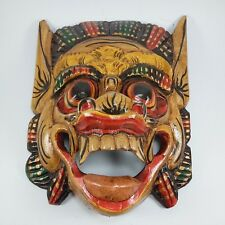 Barong Bali wooden art sculptures mask  for hanging wall handmade free shipping
