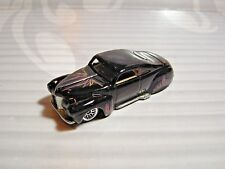 HOT WHEELS   loose  = `41 ford  - TAIL DRAGGER = BLACK  ,  lace