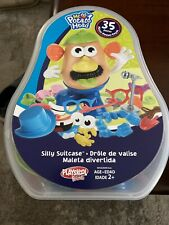 Mr. Potato Head Silly Suitcase Complete Play Set With All 35 Pieces Playskool