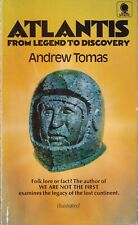 Atlantis: From Legend to Discovery by Tomas, Andrew, SIGNED
