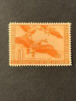 US Federal Duck Stamp Scott#RW11 $1 Mint VLH OG NICE CENTERING. (G18).