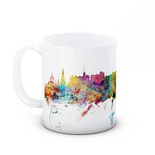 Edinburgh Skyline, Scotland Cityscape - High Quality Ceramic Mug