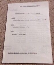 RARE 1976 NORTHERN IRELAND V ENGLAND (BOYS CLUB INTERNATIONAL) 13-3-76