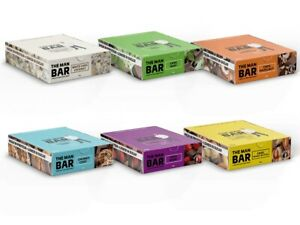 The Man Shake The Man Bars Healthy Meal Replacement Weight Loss Food 10 Bars