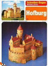Schreiber-Bogen Kartonmodellbau Hofburg