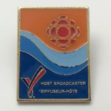 Olympic Host Broadcaster ScotiaBank Pin F977