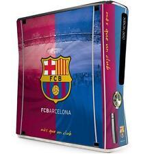 FC Barcellona XBOX 360 console Pelle (SLIM) ADESIVO COVER UFFICIALE