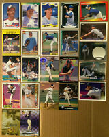 RANDY JOHNSON LOT of 34 RC Rookie inserts base cards NM+ 1989 -1999 The Big Unit