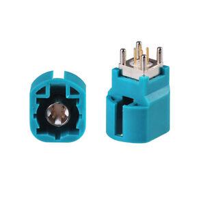 Car Head Unit USB HSD Z Thru Hole PCB Connector for BMW VW Audi Mercedes Benz