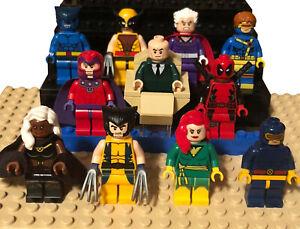 100+ Lego X Men Minifigures Apocalypse Wolverine Quichsilver Magneto Xmen Lego