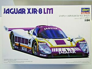 Hasegawa 1:24 Scale TWR Silk Cut Jaguar XJR-8 Le Mans Model Kit # 22051:1800 New
