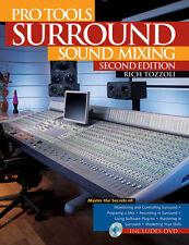 Pro Tools Surround Sound Mixing Book + Dvd Set New