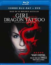 THE GIRL WITH THE DRAGON TATTOO (COMBO BLU-RAY/DVD FREE SHIPPING NEW
