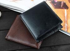 Mens Bifold Wallet Leather Money Purse Credit Card ID Card Holder Slim Clutch