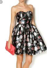 Gracia party floral strapless dress size medium