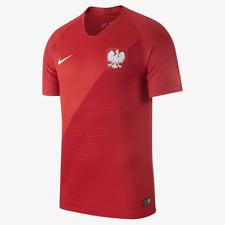 Nike MEN'S 2018 POLAND Stadium Away Soccer/Football Jersey SIZE SMALL BRAND NEW