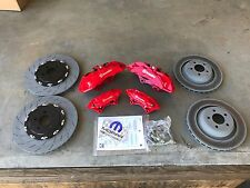 Challenger Charger Big Brake Kit Brembo 6 Pot Calipers Rotors Pads Front & Rear