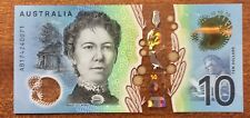 2017 Australia new $10 note UNC - AB174240071