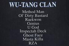 1997 WU-TANG FOREVER vintage 90s rap RZA hip hop u god inspectah deck T-shirt XL