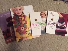Knitting Books Scarves - Lot of 3 + Bonus Book