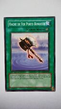 Carte Yu Gi Oh Hache De Fer Porte-Bonheur YSDJ-FR032