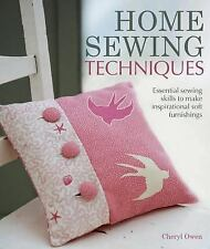 Home Sewing Techniques: Essential Sewing Skills to Make Inspirational -ExLibrary