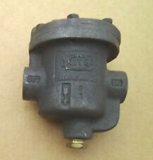 "United Brass Works 1/2"" #850 Steam Trap 125 Lb Nos 182"
