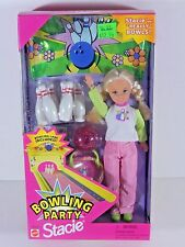 NIB BARBIE DOLL 1998 BOWLING PARTY STACIE SALE!! BARBIES R STORE