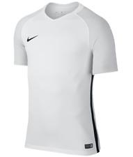 New Nike Revolution IV Soccer Jersey Men's Medium White Grey Shirt 833017 $40