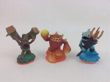 Eruptor Skylanders Series 2 Giants Video Game Figures Lot (3) Activision
