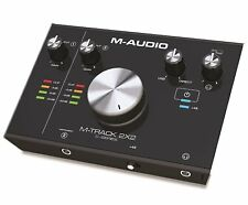 M-Audio M-Track 2X2 C-Series | 2-in/2-out USB Audio Interface (24-bit/192kHz)