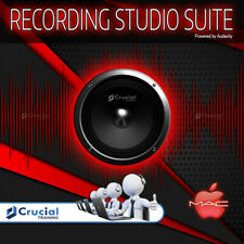 New ListingRecording Studio Suite, Audio and Sound Recording, Mp3 Editor, Drum Machine, Mac