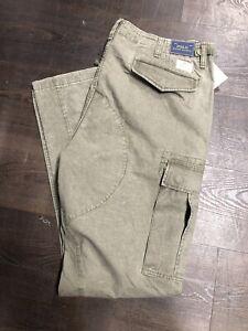Polo Ralph Lauren Men's Usa Army Military M65 Cargo Pants Size - 38 W X 34 L