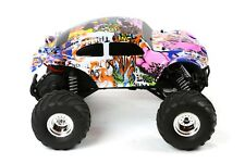 Custom Body Graffiti Buggy for Traxxas 1/10 Bigfoot / Stampede Truck Shell Cover