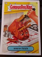 Garbage Pail Kids 2007 All-New Series ANS 7 #4a Knifin' Ivan NrMint-Mint