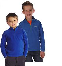 Regatta Hot Shot Boys Girls Kids Lightweight Fleece Jacket 9-10 Years Oxford Blue