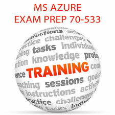 MS Azure Exam Prep 70-533 parte 1-Video Tutorial DVD de entrenamiento