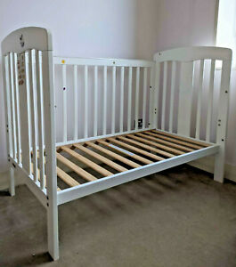 Grotime Pearl 4 in 1 Cot - White