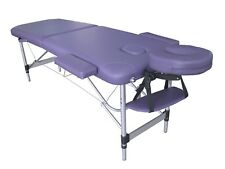 TABLE DE MASSAGE G6P PLIANTE PORTABLE EN ALUMINIUM 2 PLANS ZONES kiné tattoo