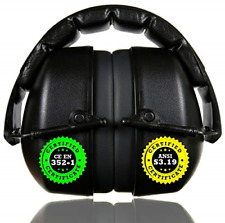 ClearArmor 141001 Shooters Hearing Protection Safety Ear Muffs Folding-Padded