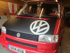 VW T4 TRANSPORTER CARAVELLE Offset VW LOGO BONNET BRA